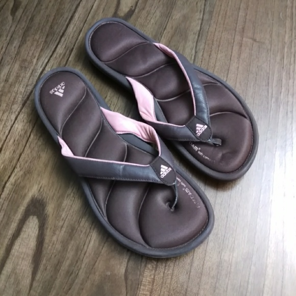 0d26e45e0f4db7 adidas Shoes - Adidas FitFoam Soft Comfort Footbed Thong FlipFlop